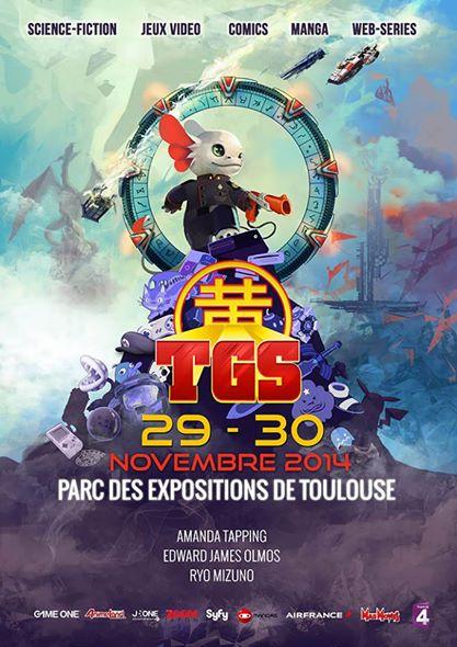 Toulouse Game Show 8, les 29 et 30/11/2014 au Parc des Expositions de Toulouse