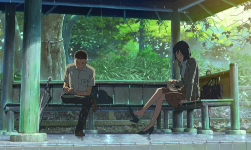 Kotonoha no niwa anime for El jardin de las palabras filmaffinity